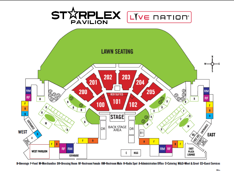 Starplex Pavilion Upcoming Shows in Dallas Texas Live  : 148331545601 from www.livenationvenue.com size 800 x 615 png 174kB